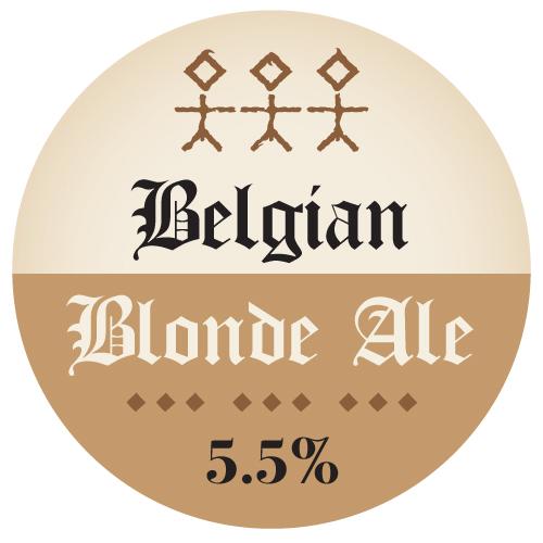 Belgian Blonde Ale - 5.5% ABV