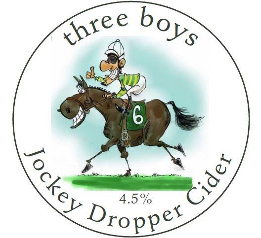 Jockey Dropper Cider - 4.5%ABV