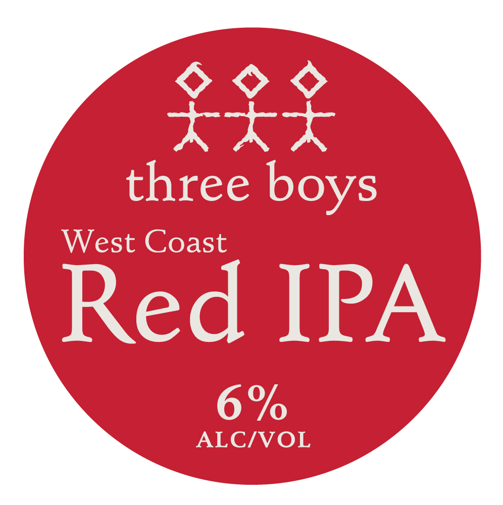 West Coast Red IPA - 6% ABV