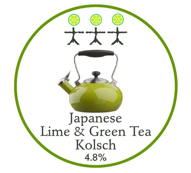 Japanese Lime & Green Tea Kolsch - 4.8%ABV