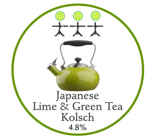 Japanese Lime & Green Tea Kolsch - 4.8%ABV