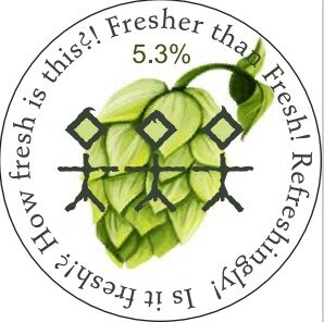 Fresh Hop Golden Ale - 4.5% ABV