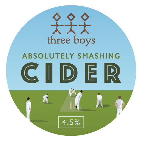 Absolutely Smashing Cider - 5% ABV