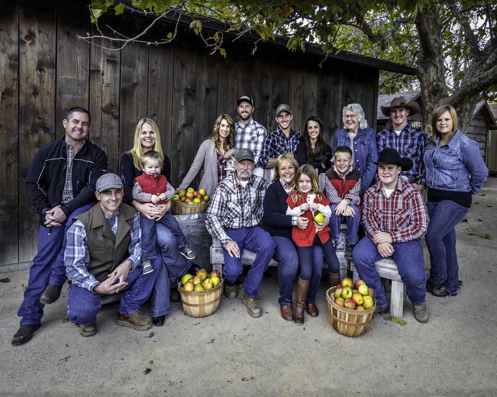 Together the Smith family tends more than 100 varieties of apples, including hybrids and heirlooms in Avila.