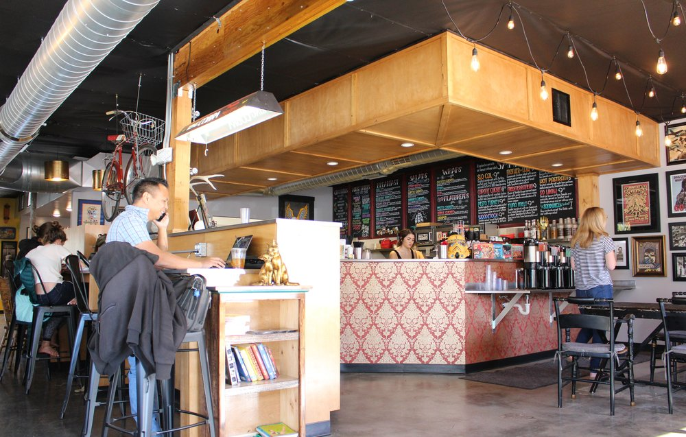 Photo Courtesy Of Nora Murphy   COME SAIL AWAY  The Nautical Bean's new location at 2010 Parker St. is straight out of the '80s—in a good way. You can still order all the modern drinks and food you crave from their sister location on Los Osos Valley Road. Now, you just have more space to chill (plus, play Pac-Man).