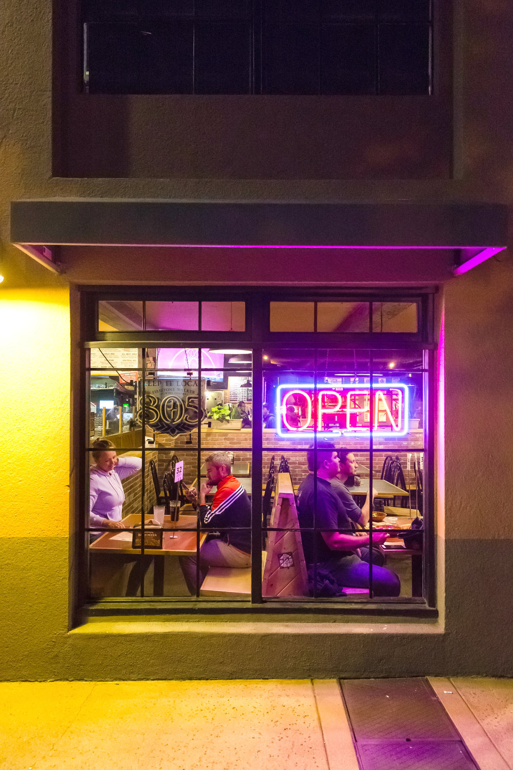 Photo By Jayson Mellom Consider my reinvigorated love for SLO's neon just one nocturnal nugget collected in the calorie-laden field notes that follow.