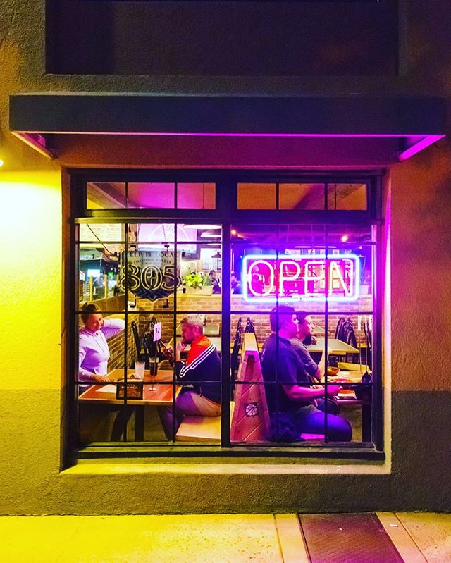 SLO is a sleepy place—it's certainly not known for late night eats. But that didn't stop me from wandering the wee hours in search of carbs, coffee and characters. My rambling cover story on nocturnal nibbles is out now @newtimesslo ! Pick up a copy of the annual Flavor Issue today or click the link in the bio. It's a big fat slice of life. And it's all true, down to the last crumb. . . #flavorslo #sleepwhenyourefed #nocturnalnibbles #woodstockspizza #slodoco #pagnolbakery #breakingbreadbakery #sanluisobispo