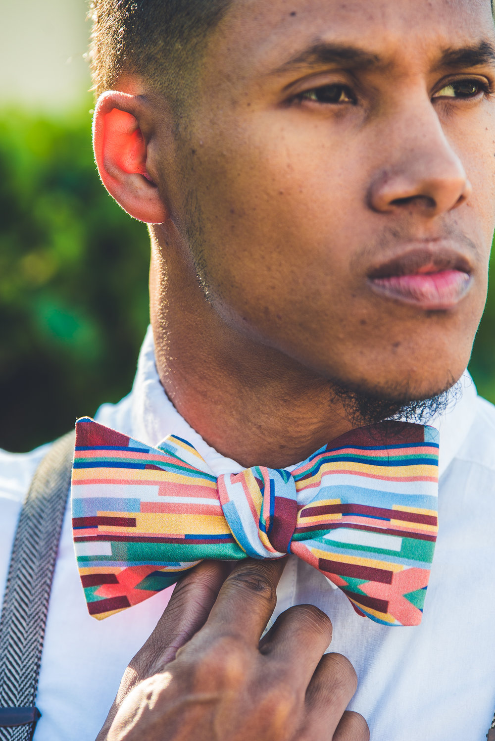 Port of Spain Jumbo Bow Tie