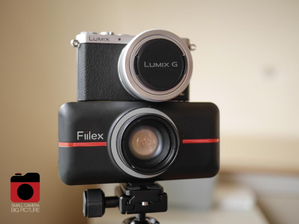 Fiilex P100 with Lumix GM1