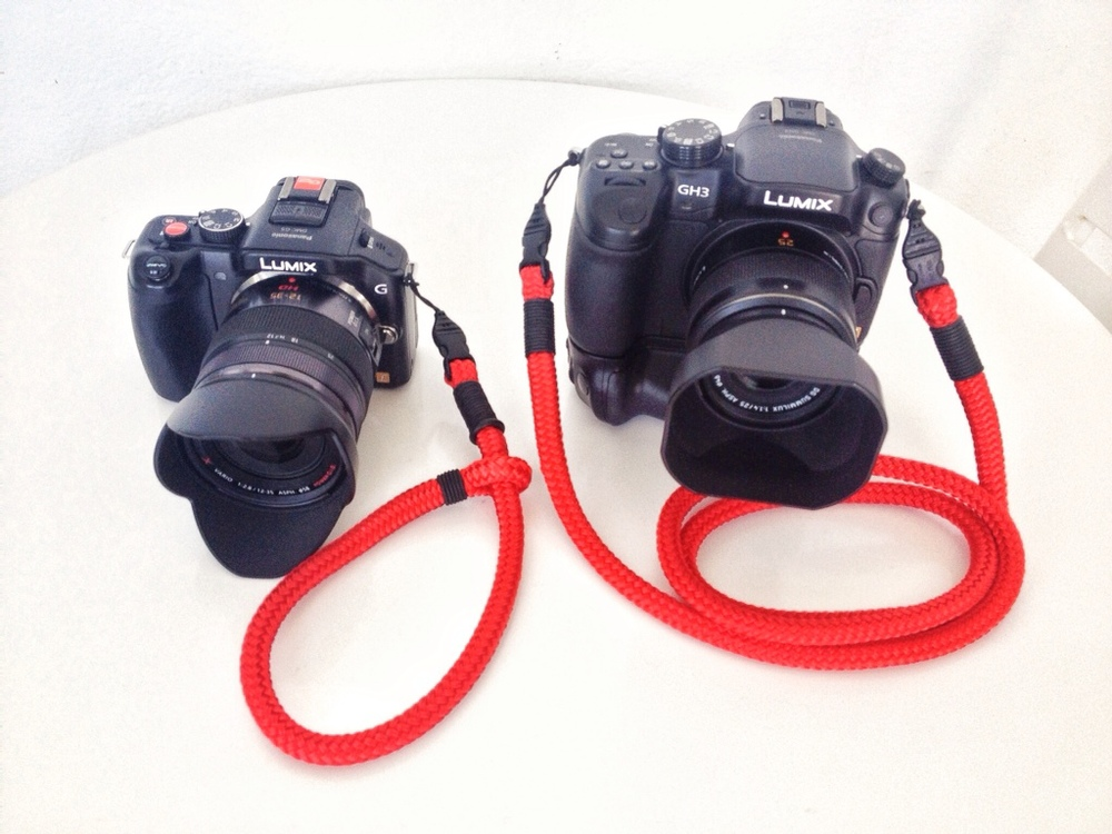 Lance Strap with Lumix G5 and Panasonic GH3