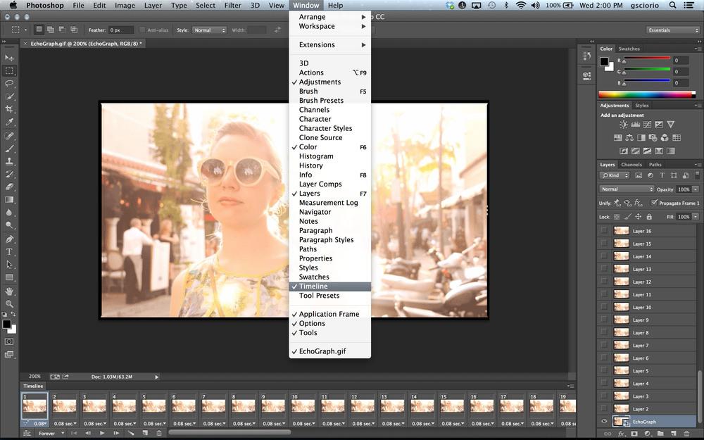 Photoshop CC GIF