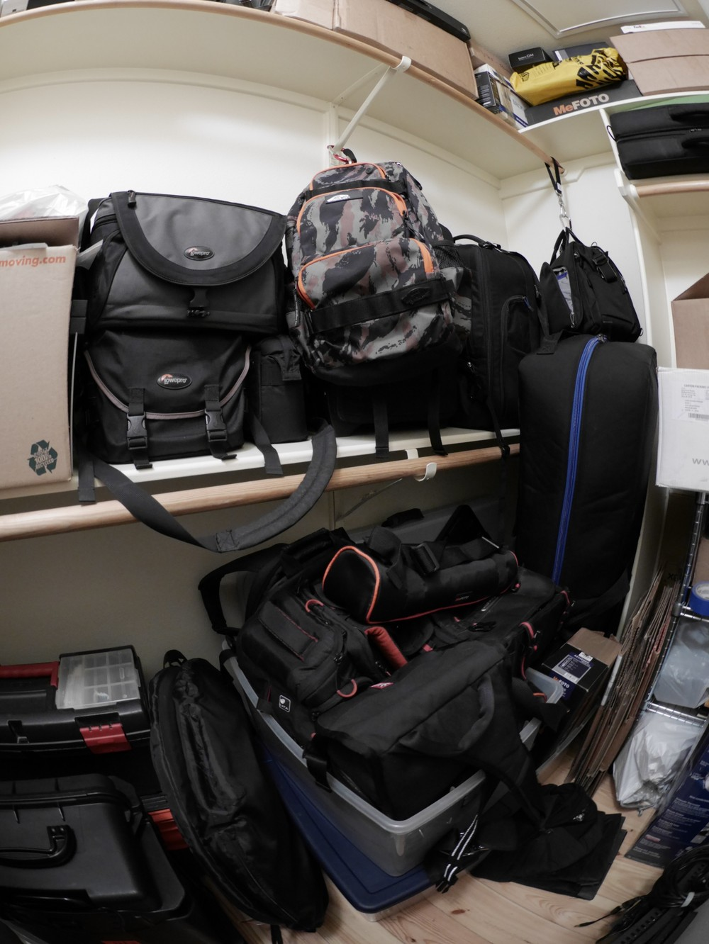 With over 40 camera bags, my obsession is real but I'd be happy with just a few bags that work.