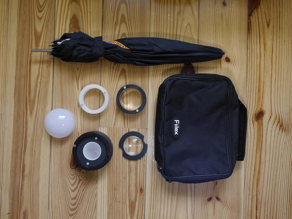 Fiilex P360 accessory kit