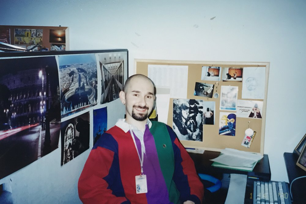 1999 at Fox Animation Studios, Phoenix.