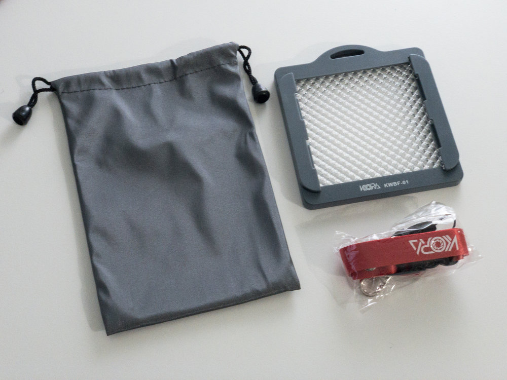 Kiora White Balance Kit - $9.99!