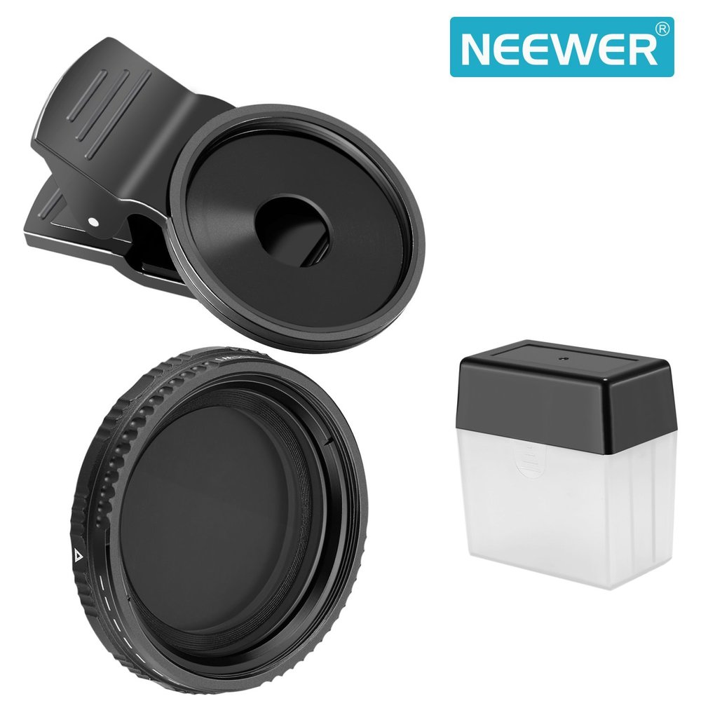 Neewer Clip on ND - A Variable ND with case for $13.99!