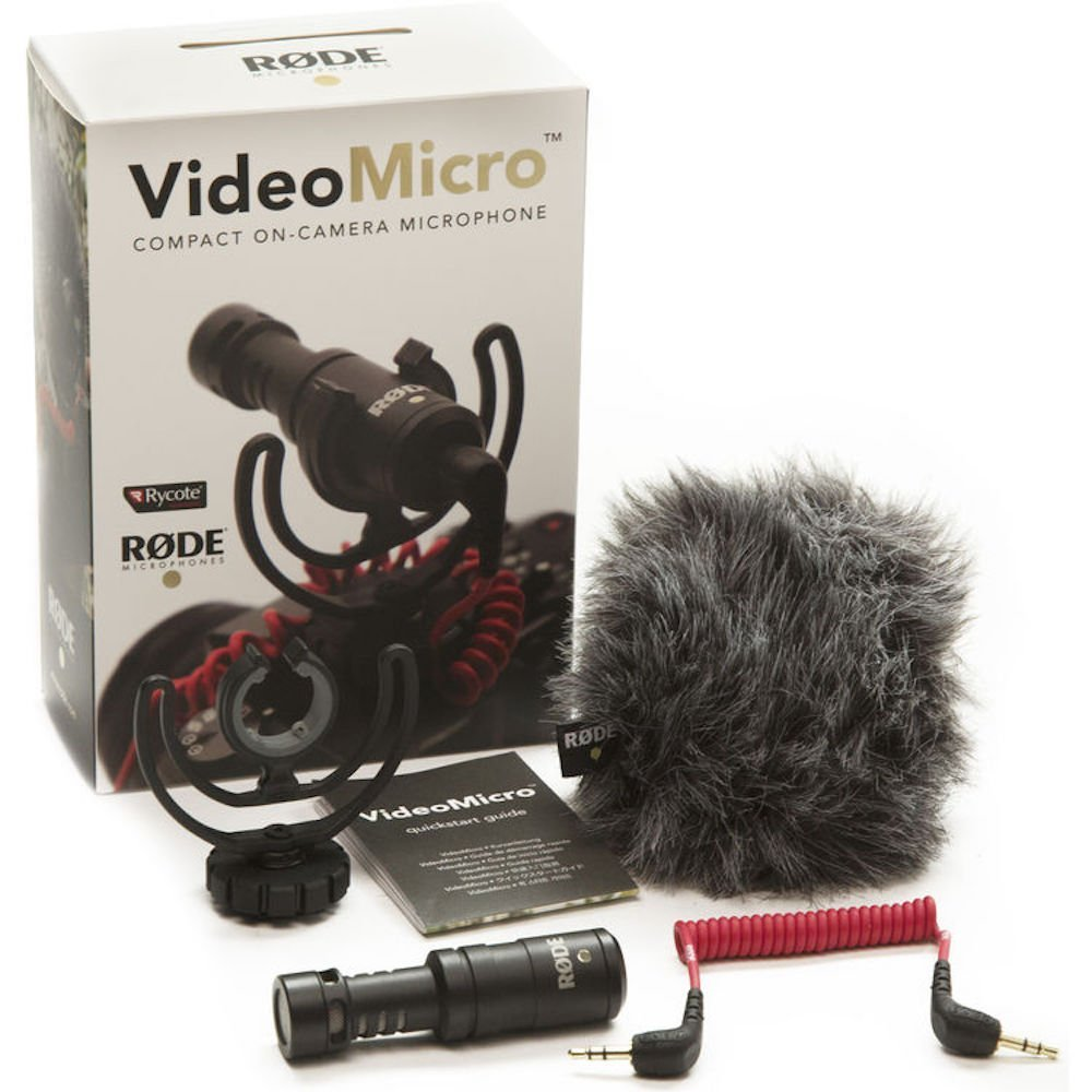 Rode VideoMicro - Industry standard audio for less than $60