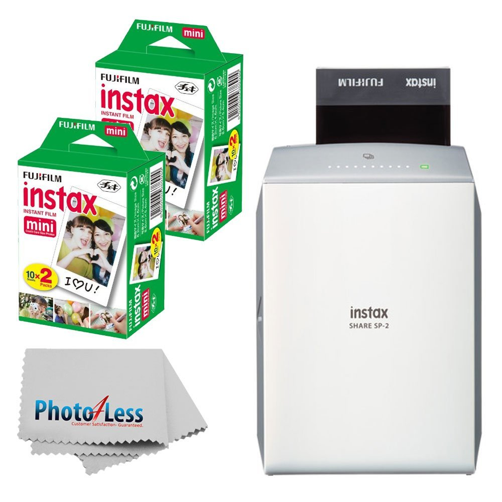 Fujifilm instax SHARE Smartphone Printer SP-2 - Print direct from a smartphone or Fuji X Camera