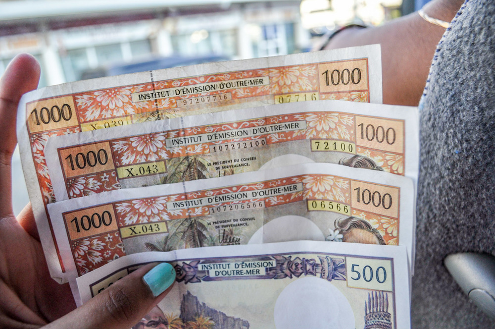 New Caledonian money.