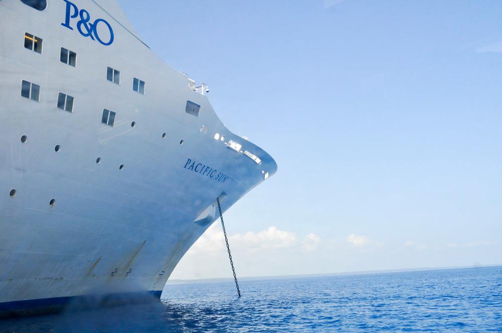 All aboard the Pacific Sun!