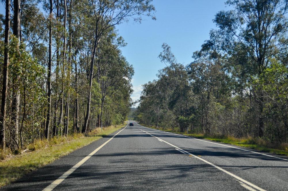 Road-trippin' to Nanango.