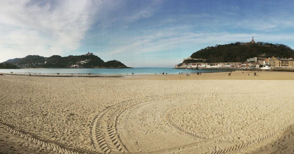 An extra stop off in San Sebastián meant we got to enjoy a new town for a few hours.