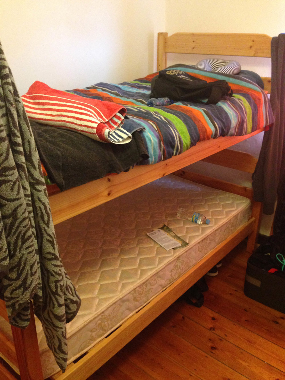 Basic bunks - nothing to complain about here.