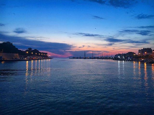Last night in Zadar 😍