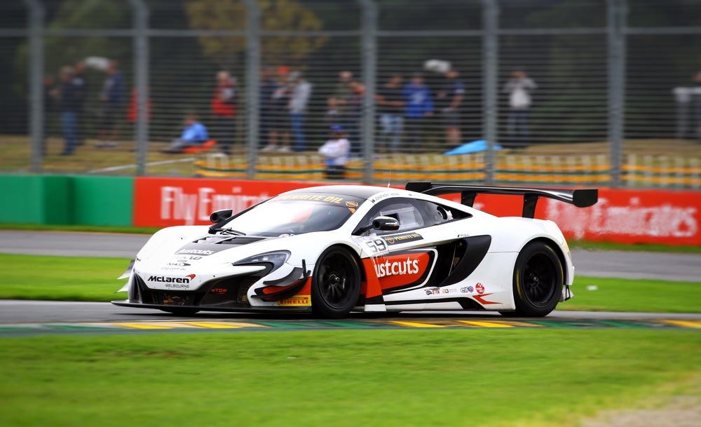The No. 59 McLaren GT Race Car will be there Saturday