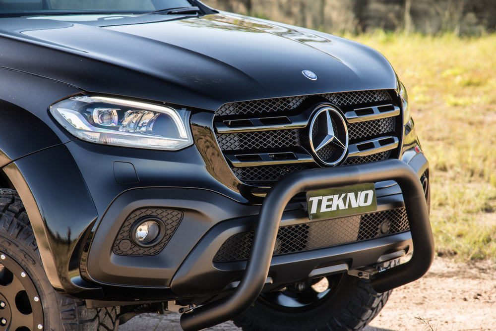 TEKNO enhanced Mercedes Benz X-Class