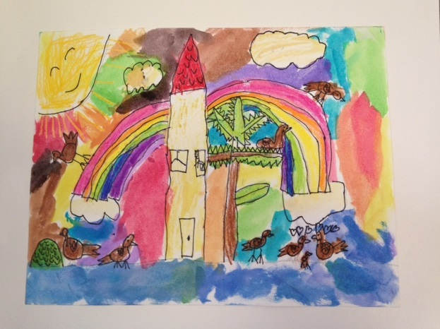 Honorable Mention:  Marjorie Albatrosov-Fuquay, 1st Grade, Kilauea Elementary