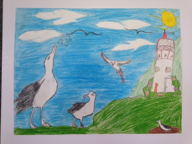 Second Place:  Makala Kirk, 4th Grade, Kanuikapono PCS