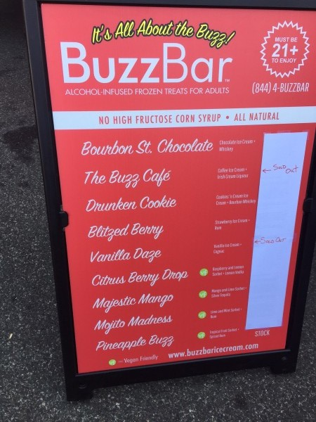 BuzzBar Menu