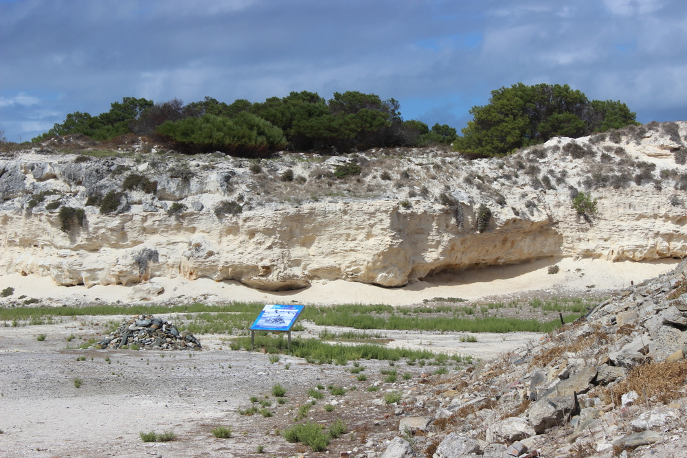 Lime Quarry where prisoners worked,including Nelson Mandela.