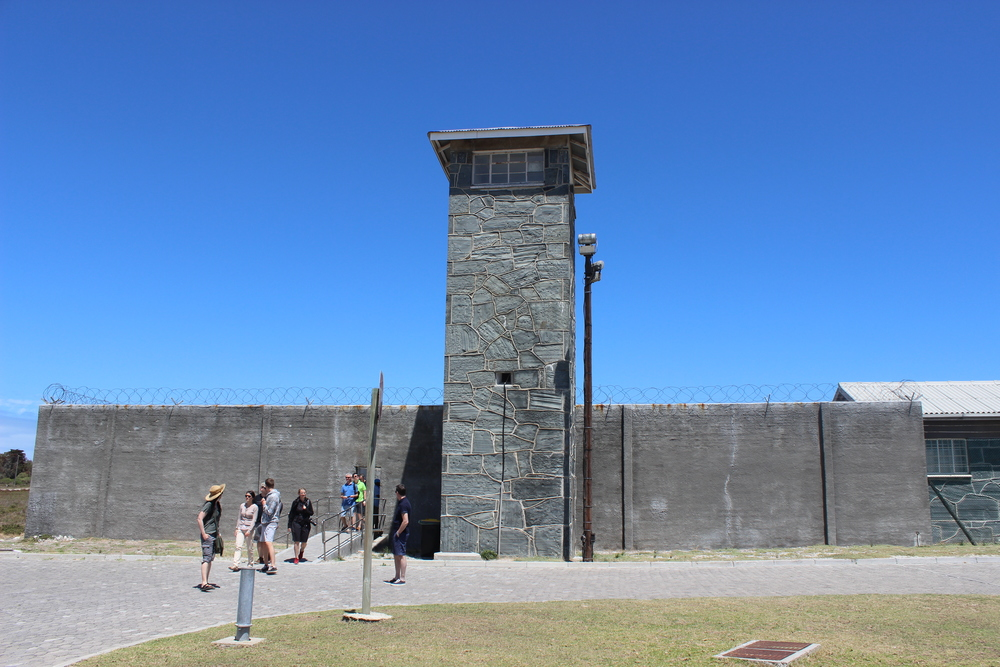 Front of the prison