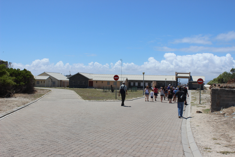 The Long Walk to Freedom, a walk that every prisoner took back to the ferry when they were released.