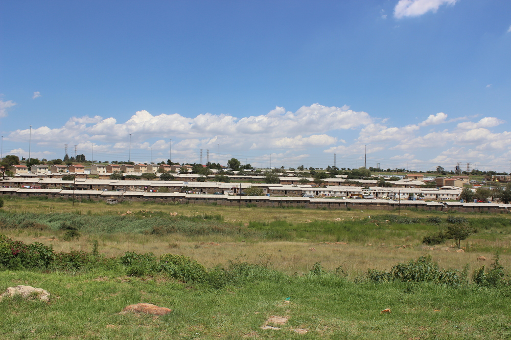 Poor area of Soweto
