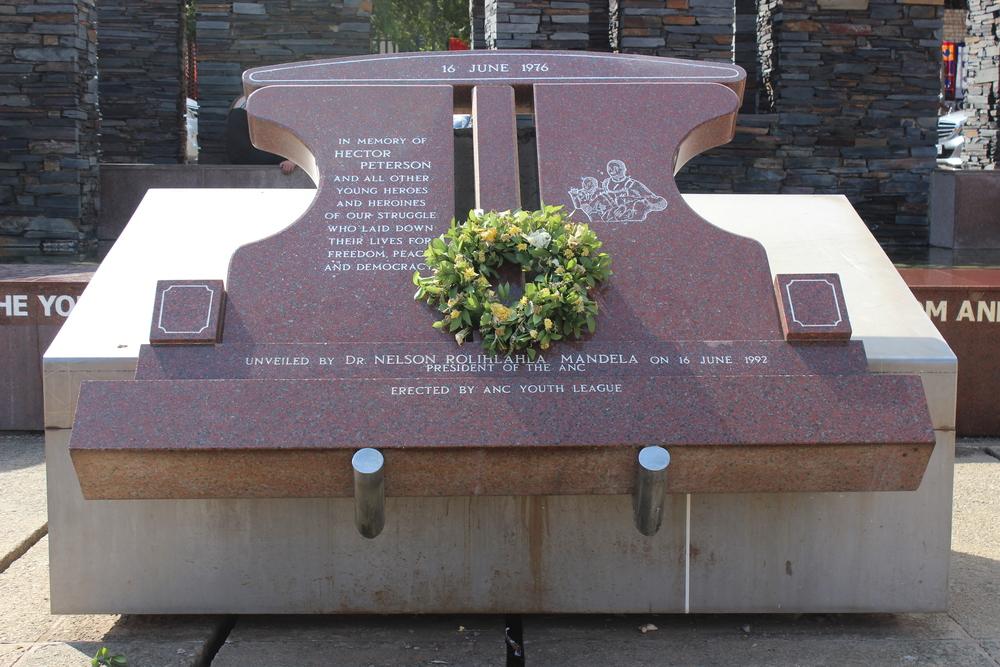 Hector Pieterson Memorial dedicated by Nelson Mandela