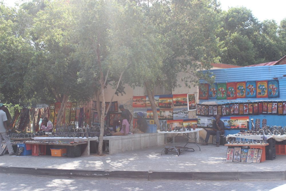 Vendors on Vilikazi Street