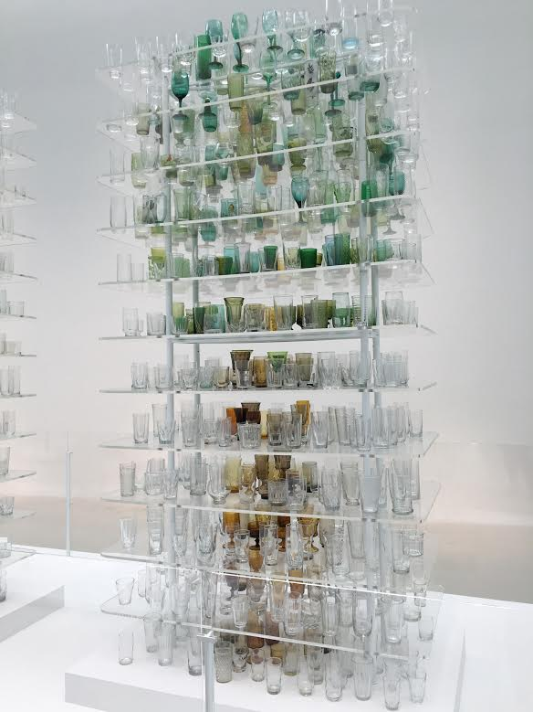 A tree within glass cups