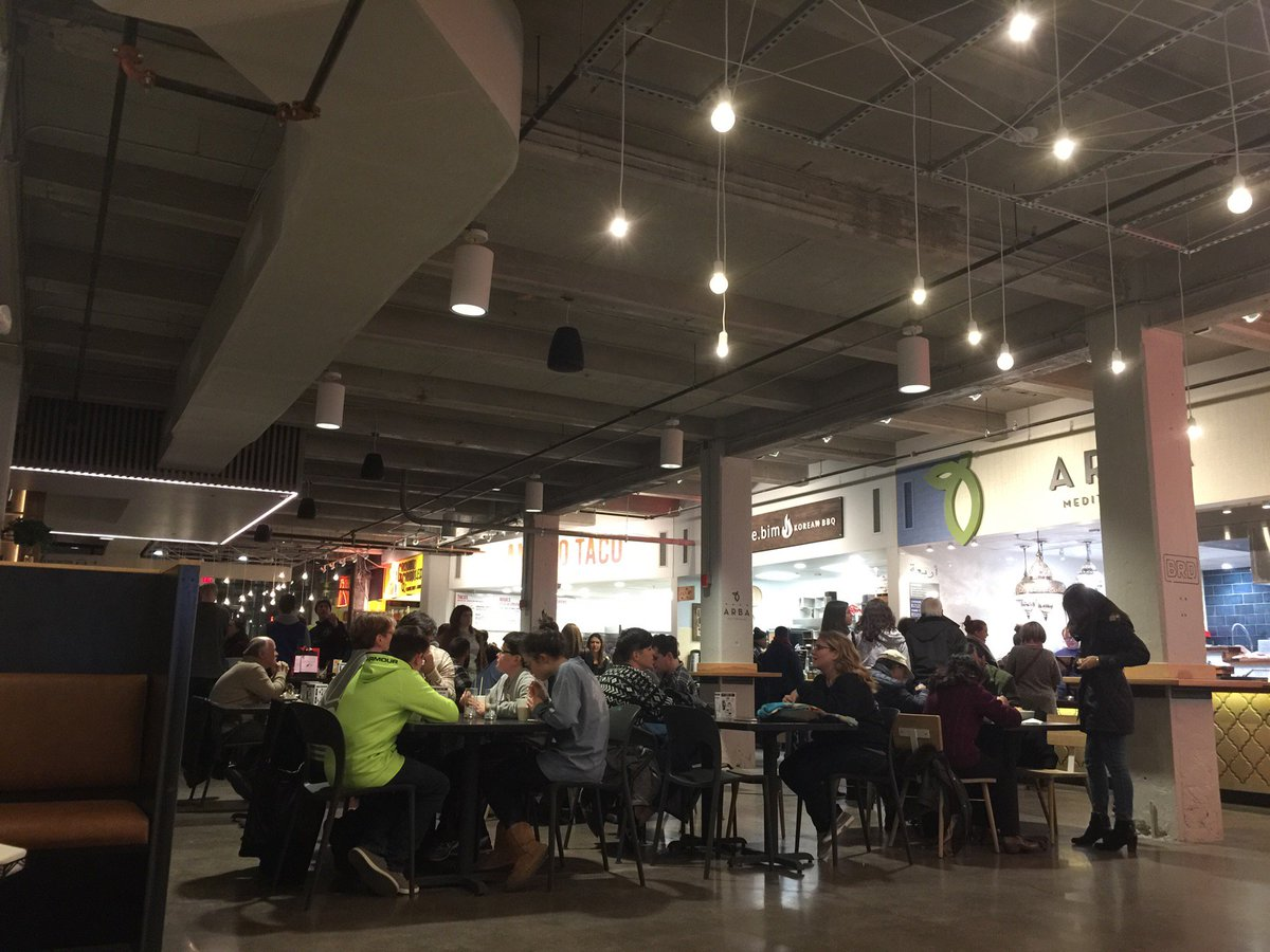 review: r. house - baltimore's newest food hall — will drink for travel