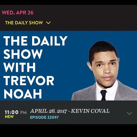 Still can't get over how great of an interview @kevincoval gave on the The Daily Show w/ @trevornoah . Check out the extended cut of it right here. http://www.cc.com/video-clips/ug9fsp/the-daily-show-with-trevor-noah-kevin-coval---telling-authentic-stories-with--a-people-s-history-of-chicago----extended-interview  I can't stress enough how amazing #apeopleshistoryofchicago is. The poems are so beautifully written and it tells stories of the city that you would never hear otherwise. Please do yourself a favor and read this book. We learned so much from it. You will not want to put it down.  It was a complete honor for us to sit down with Kevin and chat about @vinylforacause and how we can continue to grow and promote good in the city of Chicago together. So excited about what the future has to hold for us. #promotinggood #vinylforacause #youngchicagoauthors #chicagopride #chicagomusic #chicagopoetry #spokenword