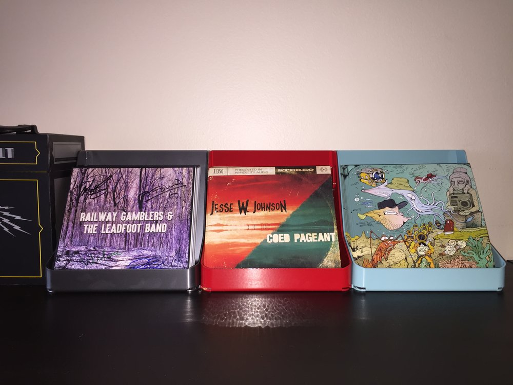 Check out our first three releases that we always proudly display in our favorite flipbin®'s!