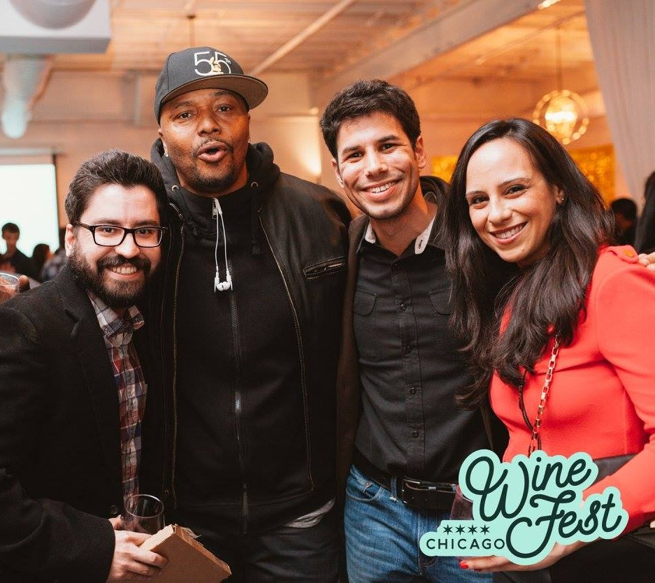Photo credit to Chicago Wine Fest