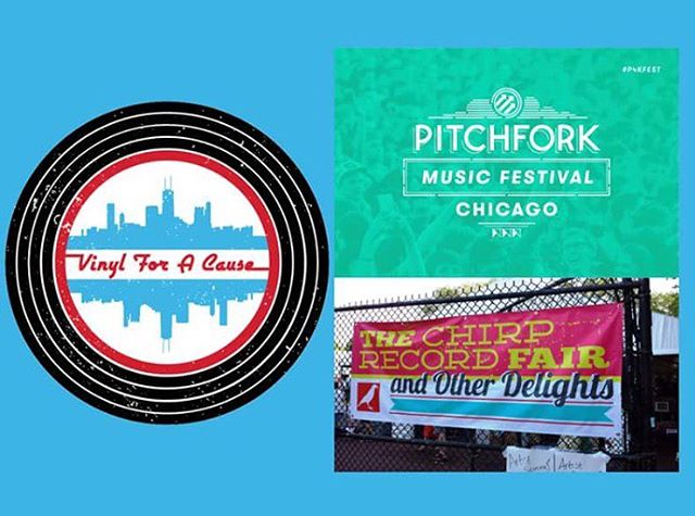 "Catch us at the @chirpradio1 Record Fair at @pitchforkfest this coming weekend! We'll be there, ""Promoting Good, One Record Sale at a Time."" #pitchforkfestival #chirprecordfair #chirpradio #chicagomusic #vinyl #promotinggood #VFAC #vinylforacause"