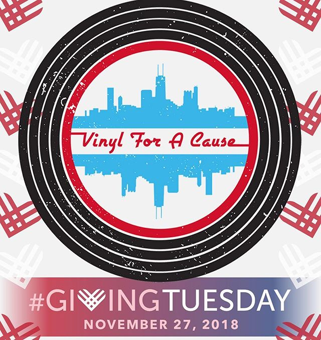 "This #GivingTuesday, grab all 4 of our special edition split 7"" vinyl releases for $60! Half of all proceeds go towards supporting the amazing organizations @youngchicagoauthors and @vh1savethemusic. Join us in our mission of, Promoting Good, One Record Sale at a Time! Purchase link in bio! #GivingTuesday2018 #PromotingGood #VinylforaCause #chicagosoul #chicagosoundsbeautiful"