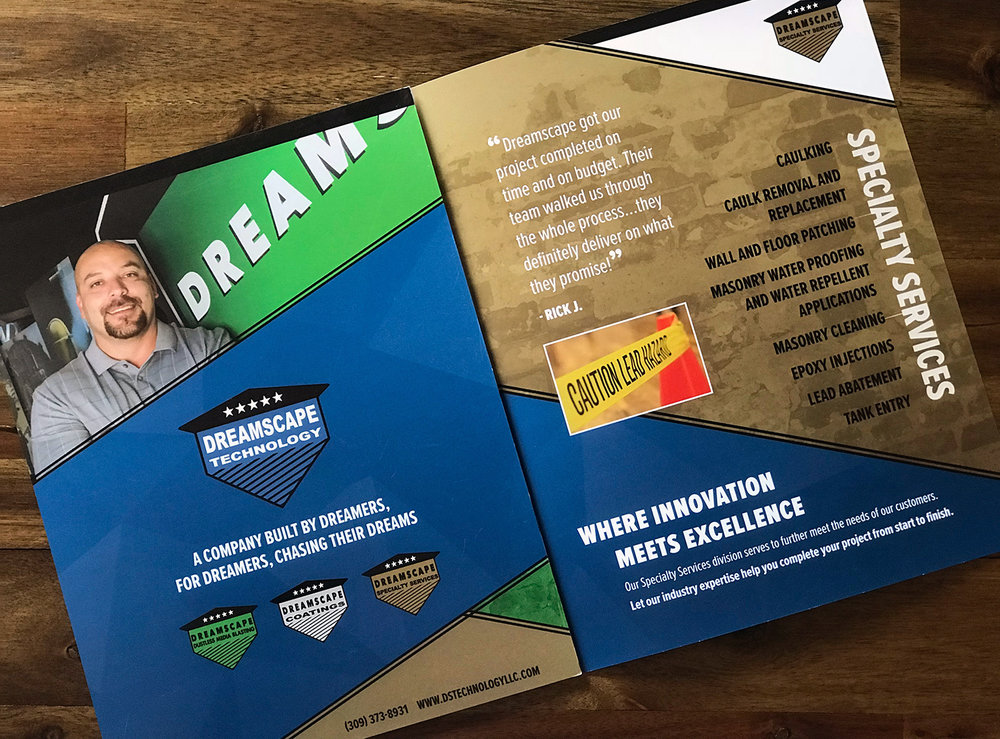 Dreamscape Technology Print & Website