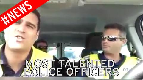 Israli Police officers sing The Lion Sleeps Tonight... has us in hysterics every time we watch it!