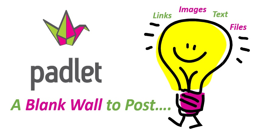 Brainsotrm, collaborate, use as a back channel... Padlet is your place!