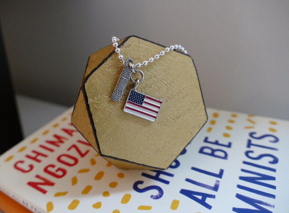 Heal America Unisex Necklace